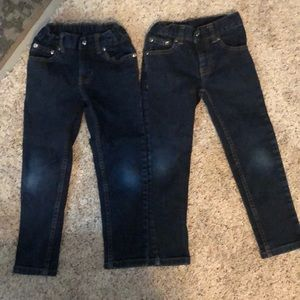 2 pair of boys jeans